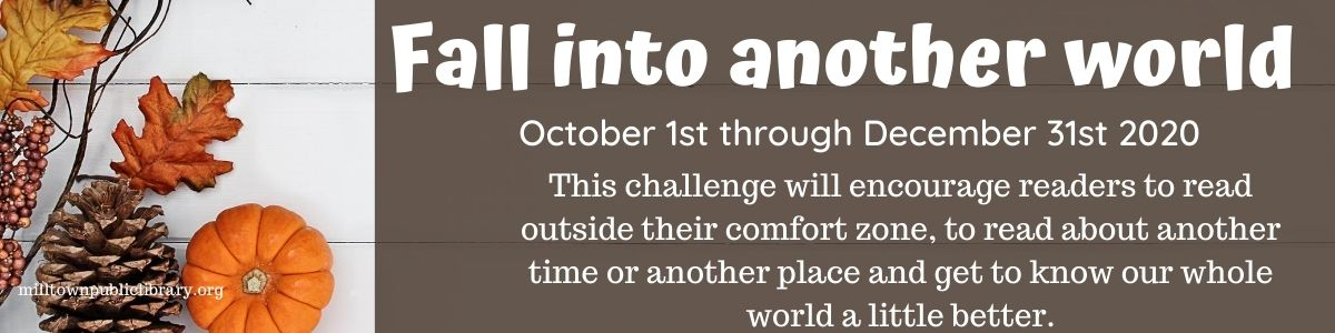 Fall Into Another World: Reading Challenge October 1 - December 31st